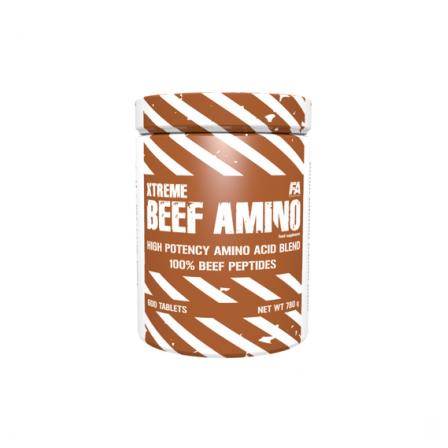 FA Nutrition Xtreme Beef Amino 600 tabs.