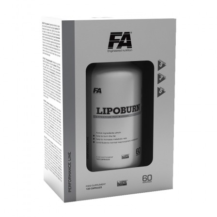 FA Nutrition Lipo Burn 60 tabs.