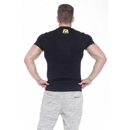 Fa Sportswear T-Shirt Basic Light Black