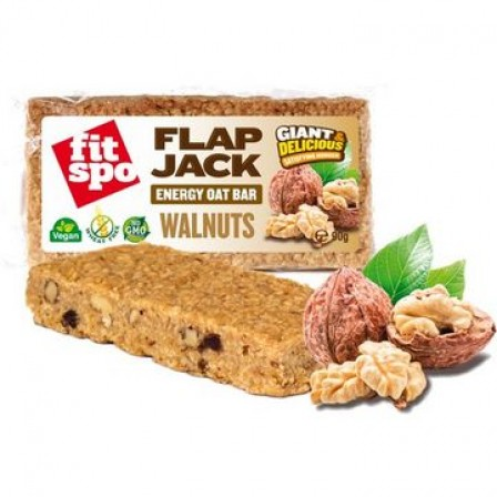 Fit Spo Flap Jack Energy Oat Bar Walnuts 1 кутия /12 бр./