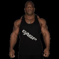 GASP Vintage T-Back Black - Спортен потник
