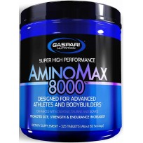 Gaspari Nutrition AminoMax 8000 325 tabs.