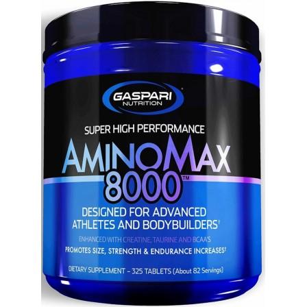 Gaspari Nutrition Amino Max 8000 325 tabs.