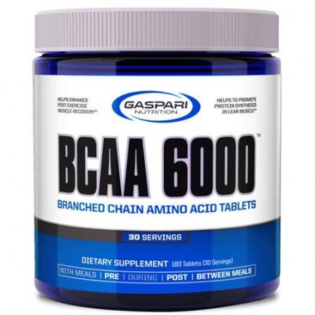 Gaspari Nutrition BCAA 6000 4:1:1180 tabs.