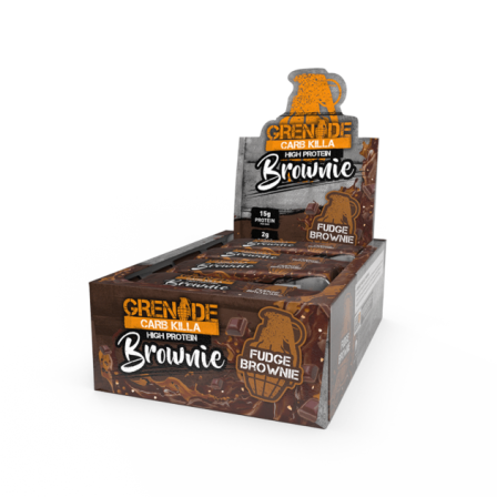 Grenade Carb Killa High Protein Brownie 12 x 60 gr.
