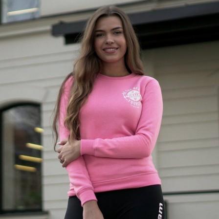 Gym Beam The Best Version Pink- Дамски Суичър