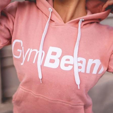 Gym Beam Women's Hoodie Athlete Powder Peach - Дамски Суичър