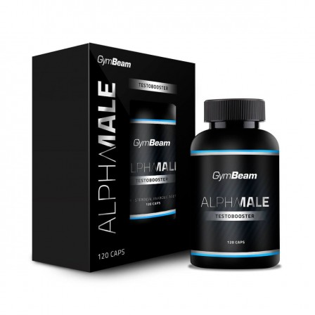 Gym Beam Alpha Male Testo Booster 120 Caps.