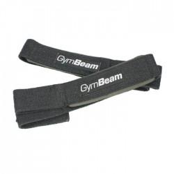 Gym Beam Lifting Straps Black