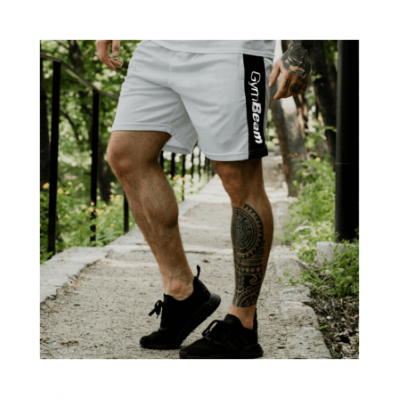 Gym Beam Men's shorts Vertical White / Шорти