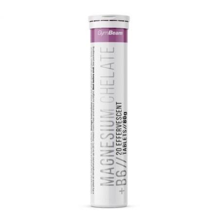 Gym Beam Magnesium Chelate + B6 20 tabs.