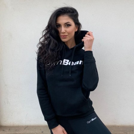 Gym Beam Hoodie Athlete Black - Дамски суичър
