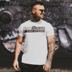 Gym Beam T-shirt Stay Strong White