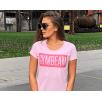 Gym Beam T-Shirt Light Pink Box Logo