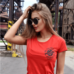 Gym Beam T-Shirt The Best Version Red Black