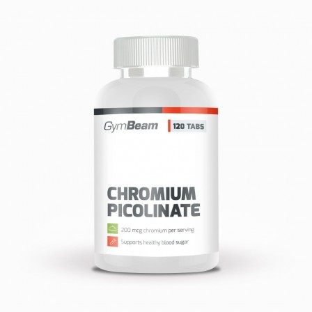 Gym Beam Chromium Picolinate 120 tabs.
