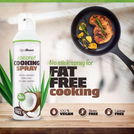 Gym Beam Coconut Cooking Spray 210 gr.