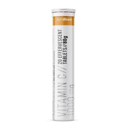 Gym Beam Effervescent Vitamin C 20 tabs.