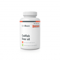 Gym Beam Codfish liver oil 90 caps.