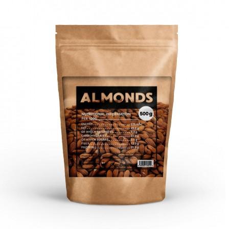 Gym Beam Raw Almonds 500 gr. - Сурови бадеми