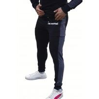 Immortal Slim Fit Black/Grey - Спортно долнище