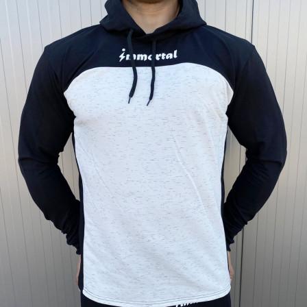 Immortal Hoodie Athlete White/Black - Спортно горнище