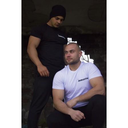 Immortal T-shirt Pro White - Мъжка спортна тениска