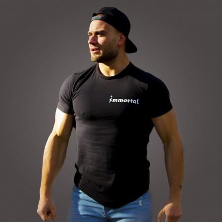 Immortal T-shirt Pro Black - Мъжка спортна тениска