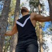 Immortal Tank Top Black - Мъжки спортен потник