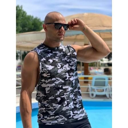 Immortal Tank Top Military - Мъжки спортен потник