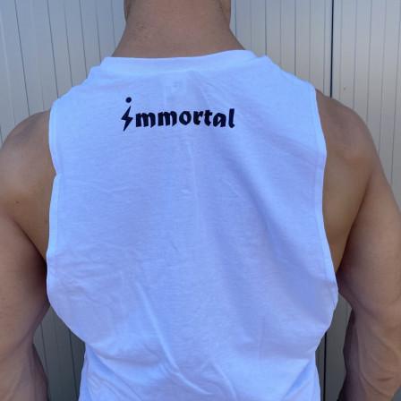 Immortal Tank Top White - Мъжки спортен потник