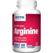 Jarrow Formulas Arginine 1000 mg 100 tabs.
