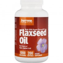 Jarrow Formulas Flaxseed Oil 200 softgels