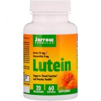 Jarrow Formulas Lutein 20 mg 30 softgels