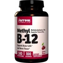 Jarrow Formulas Methyl B-12 500 mcg 100 Lozenges
