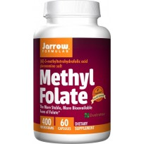 Jarrow Formulas Methyl Folate 400 mcg 60 caps.
