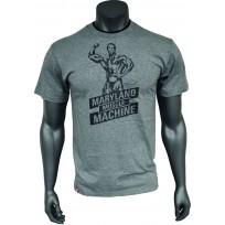 Kevin Levrone T-shirt Double Neck Grey 02 - Мъжка тениска