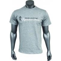 Kevin Levrone T-shirt Double Neck Grey 03 - Мъжка тениска