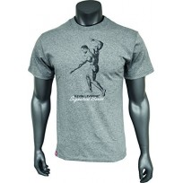 Kevin Levrone T-shirt Double Neck Grey 01 - Мъжка тениска