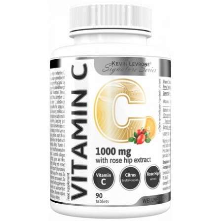 Kevin Levrone Vitamin C with rose hip extract 90 tabs.