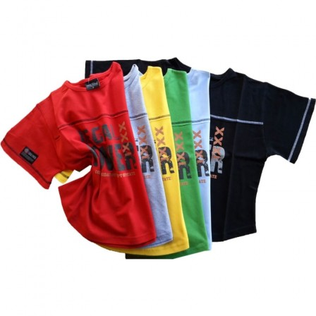 Legal Power Rag Top T-Shirts XXXL Black Фитнес блуза