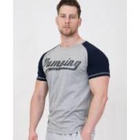 """Legal Power T-shirt """"PUMPING ERCAN"""" 9700-869 Grey"""