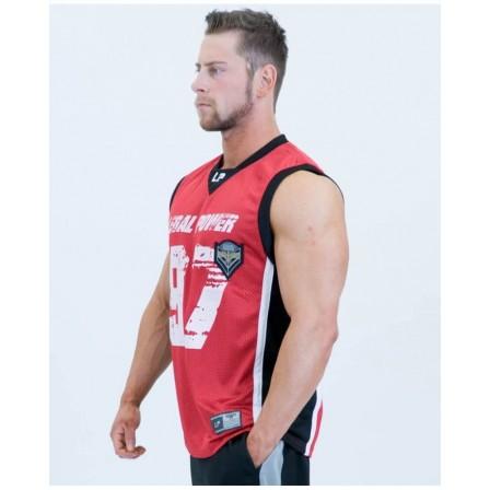 Legal Power Mesh Basketball Shirt 2701-760 Red