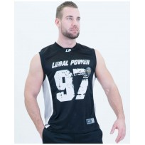Legal Power Mesh Basketball Shirt 2701-760 Black