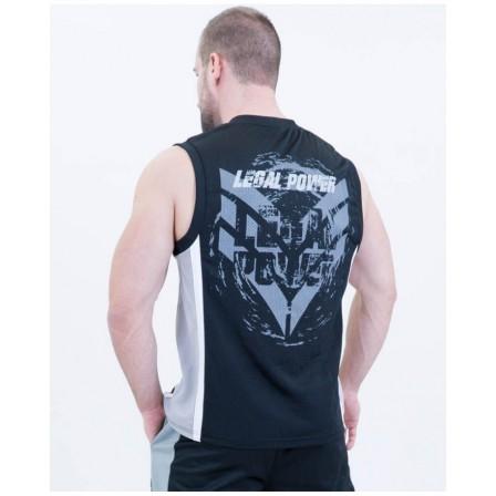 Legal Power Mesh Basketball Shirt 2701-760 Black
