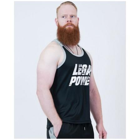 Legal Power Mesh Muscle Tank Top 2794-760 Black