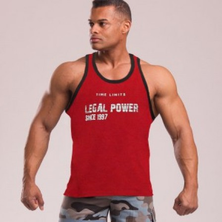 Legal Power Tank Top Red / Памучен потник