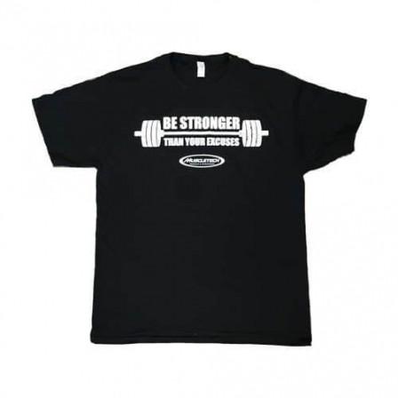 MuscleTech T-Shirt Be Stronger Black