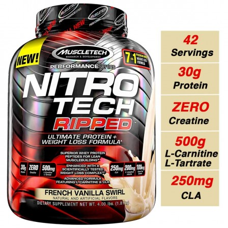 MuscleTech Performance Series NitroTech Ripped 1810 gr.
