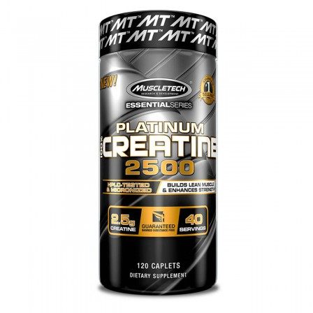 MuscleTech Platinum Pure Creatine 2500 120 caps.